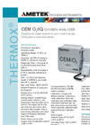 THERMOX Model CEM O2 / IQ Oxygen Analyzer Datasheet