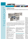THERMOX Model CEM Humox Oxygen Analyzer Datasheet