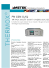 THERMOX Model RM CEM O2 Oxygen Analyzer Datasheet