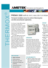 Premix Air Fuel Ratio Analyzer for Premix Burners - Application Notes