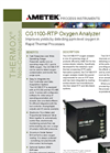 THERMOX Model CG1100 RTP Oxygen Analyzer Datasheet