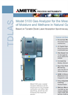Model 5100 Moisture and Methane in Natural Gas Datasheet