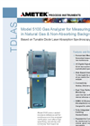 Model 5100 Moisture in Natural Gas Datasheet