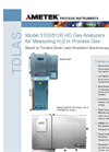 Model 5100/5100 HD H2S in Process Gas Datasheet