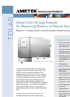 Model 5100 HD Moisture in Natural Gas Datasheet