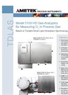 Models 5100 HD and 5100 HD Atex O2 in Process Gas Datasheet
