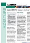 AMETEK Model 3050 AM Moisture Analyzer Datasheet