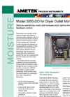 AMETEK Model 3050 DO Moisture Analyzer Datasheet