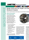 AMETEK Model 3050 SLR Moisture Analyzer Datasheet