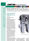 AMETEK Model 3050 TE Moisture Analyzer Datasheet