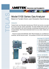 Ametek - Model 5100 Series - Gas Analyzer - Brochure