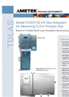 Ametek - Model TDLAS 5100 HD - Gas Analyzer - Brochure