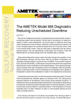 The AMETEK Model 888 Diagnostics - Reducing Unscheduled Downtime - Application Notes