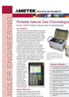 Ametek - Model 292B - Portable Natural Gas Chromatograph - Brochure