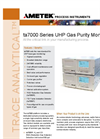 AMETEK PI ta7000 Gas Purity Monitors - Datasheet
