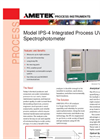 AMETEK PI IPS-4 Integrated Photometric Spectrometer - Datasheet