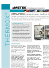 THERMOX CMFA-P2000 Portable Premix Gas/Flue Gas Analyzer - Datasheet