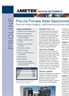 Dycor ProLine Process Mass Spectrometers - Datasheet