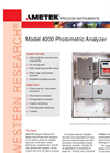 4000 Photometric Analyzer - Datasheet