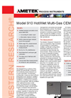 910 Hot/Wet Multi-Gas CEM - Datasheet