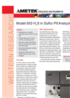 930 H2S in Sulfur Pit Analyzer - Datasheet