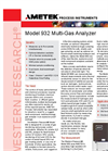 932 Multi-Gas Analyzer - Datasheet