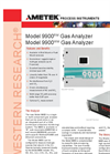 9900RM / 9900WM Gas Analyzer - Datasheet