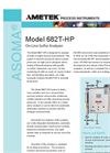 682T-HP On-Line Sulfur Analyzer - Datasheet