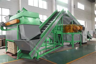 Shredwell - Model TDS Series - Tire Recycling Plant