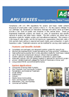 Adedge - APU Series - Arsenic and Heavy Metal Treatment Systems Brochure