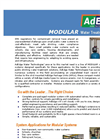 AdEdge - Modular Water Treatment Systems Brochure