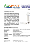 AdVantEdge - DWS-2S-2710-01 Dual Series - Under-Counter POU System Brochure