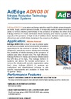 AdEdge - ADNO3 IX - Nitrates Reduction Technology for Water Systems