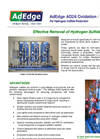 AdEdge - AD26 - Oxidation / Filtration for Hydrogen Sulfide Reduction - Brochure