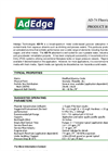 AD-74 Fluoride Media Product Bulletin - Brochure