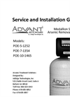 AdVantEdge - Medallion Series - Arsenic Removal Systems Installations Manual