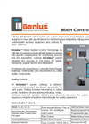 AdEdge InGenius - Main Control Panels - Datasheet