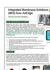 AdEdg - Integrated Membrane Solutions (IMS) - Brochure