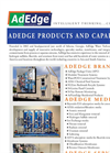 Adedge - Brands and Capabiliites Brochure