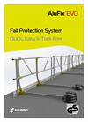 AluFix - Model EVO - Fall Protection Systems Brochure