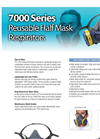 Model 7111 - Paint Spray / Pesticides Pre-Assembled Respirators Brochure