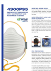 AirWave - Model 4300P95 Series - Disposable Respirators Brochure