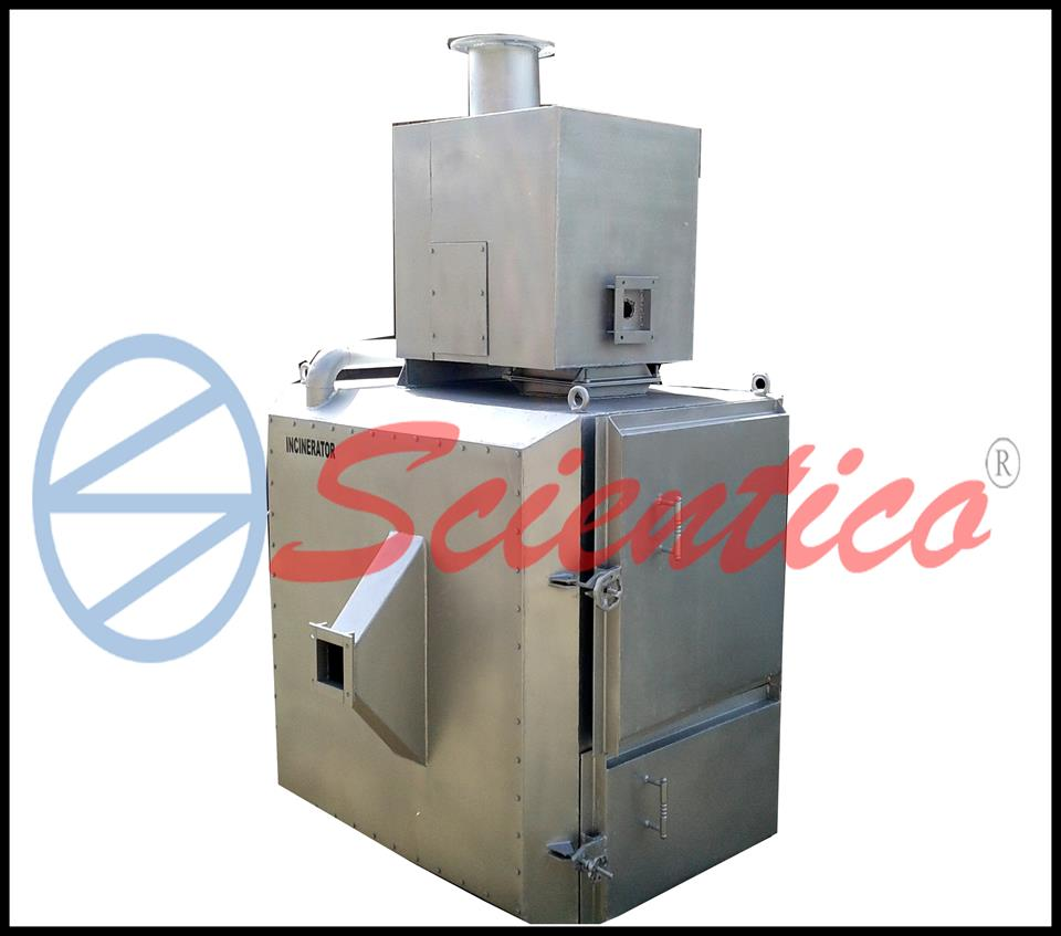 Scientico - Model 200kg - Medical Waste Incinerator