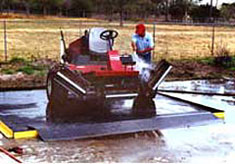 Patented Waste Water Recovery System for Heavy Machinery & Parts Cleaning