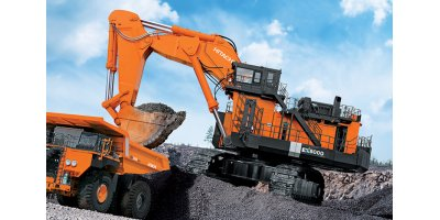 Hitachi - Model EX8000-6 - Mining Shovel