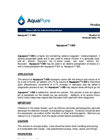 Aquapure - Model I - 300 - Liquid Iron Containing Cationic Coagulant / Metal Precipitant Brochure
