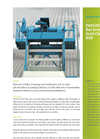 PASSAVANT - Model SGR - Bar Screen with Grab Cleaner Brochure