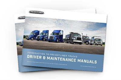 Driver & Maintenance Manuals