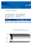 egeplast - Model SLR - Communal and Industrial Sewers Polyethylene Pipe System Brochure