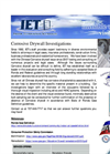 Corrosive Drywall Inspection Flyer